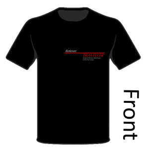 Classic Traveller T-Shirt - Logo & Referee (front)
