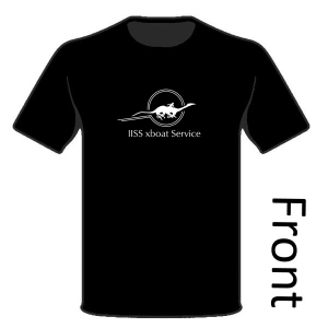 Classic / Traveller5 T-Shirt - IISS xboat Service Logo (front)