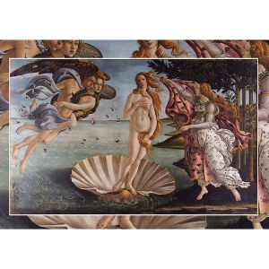 Wooden Jigsaw Puzzle - Premier #3 - The Birth of Venus by Botticelli