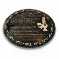 'Original' Round Tuit History Glass Coaster