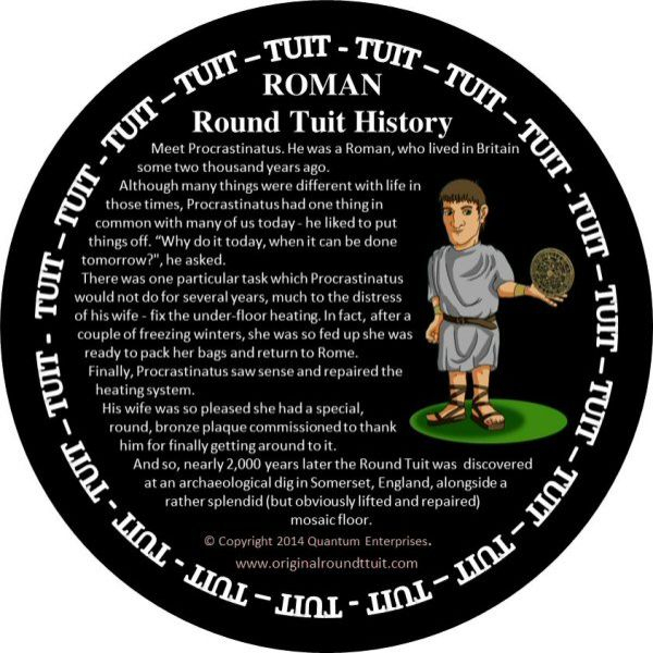 It's just an image of Old Fashioned A Round Tuit Printable