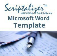 Scriptalizer Microsoft Word Template