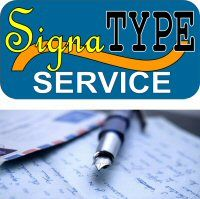 SignaTYPE Handwriting Font Service (Payment Only)